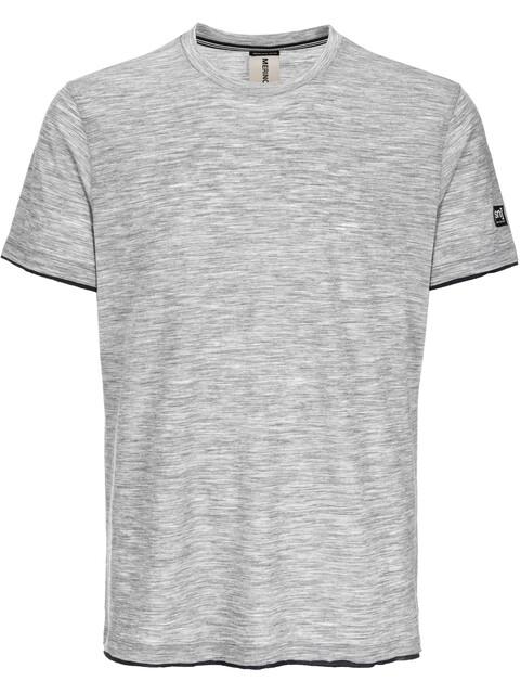 super.natural City Kortærmet T-shirt Herrer grå/sort